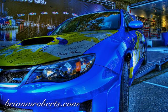 Subaru Jump Car