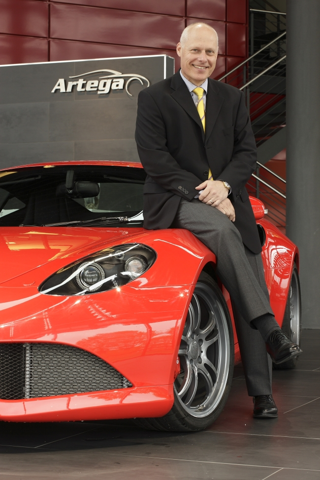 Peter Müller  took over the leadership of Artega Automobil