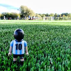 Mess (Rosarino Vagamundo) Tags: argentina ball lumix soccer panasonic uppsala rosarino futbol maradona suecia playmobil pelota messi lx5 vagamundo rosarinovagamundo