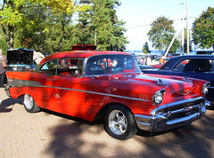 57 Chevy (travelintime1984) Tags: red chevy 57 cmwdr