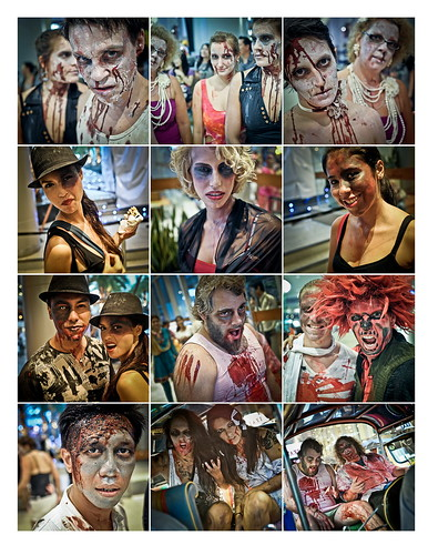 Bangkok 2nd Annual Thai Zombie Walk 16th October 2010 Page 2