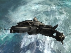 UNSC Sabre Orbital Defense Fighter (slidercleo) Tags: fighter halo sabre jorge reach campaign orbit spartan unsc longnightofsolace