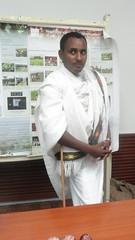 Raya man - Ethiopian traditional cloth (International Livestock Research Institute) Tags: event knowledge ethiopia ilri crp2 sfaddis