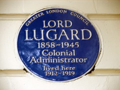 Photo of Frederick Lugard blue plaque