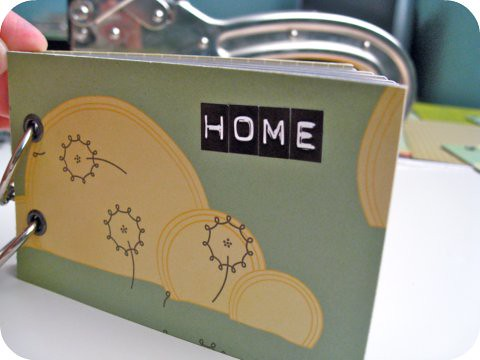 'Home' Instax Mini Album