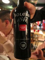 Solera 1847 Oloroso Dulce