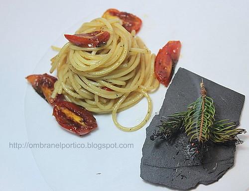 Spaghetti affumicati