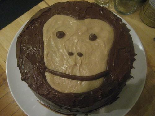 Monkey cake!