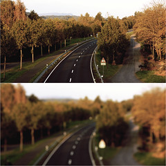 streets of autumn (donchris!) Tags: street autumn fall automne de point punto diptych strasse herbst it di otoo  vanishing dip autunno fuga dippy jesie diptychon  ulica  fluchtpunkt   jesieni