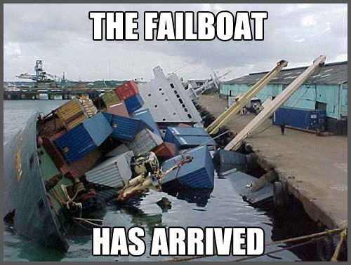 fail boat