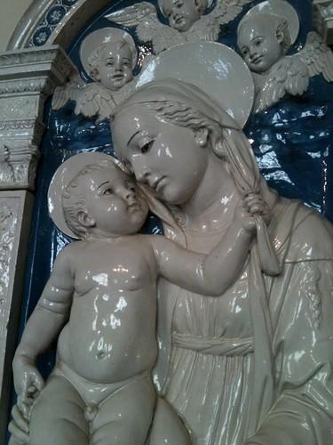 Terracotta by Della Robbia, Bargello