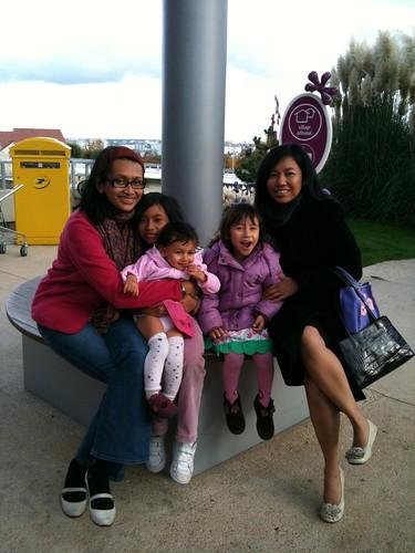 with Sitha n kids