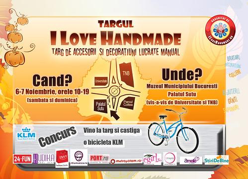 I LoveHandmade 6-7 Noiembrie
