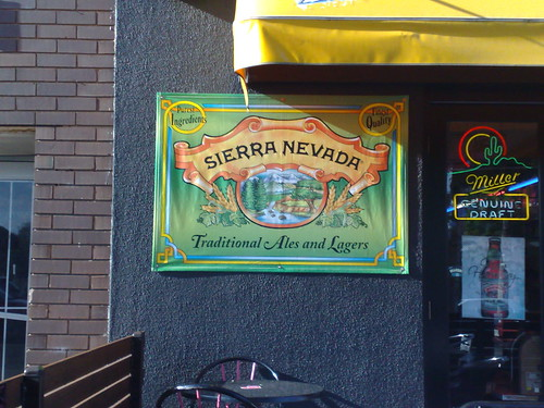 Sierra Nevada sign