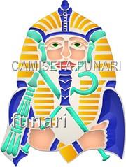 desenho foto ramesis II farao cultura egipicia