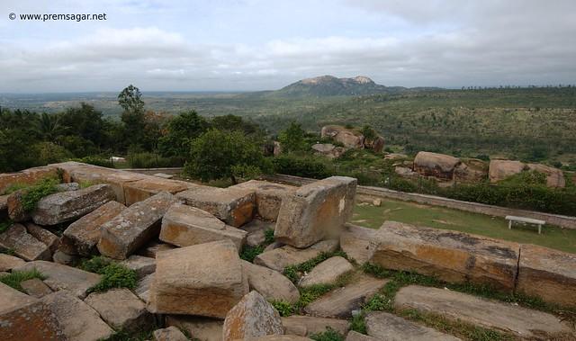 View from Raya Gopura