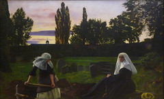 Millais's The Vale of Rest