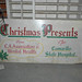 Hosptial Christmas Sign found in Basement of Old Administration Building