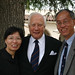 Author David McCullough and  Professors Huang  and Wang at President's Circle