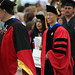 Faculty procession of Commencement