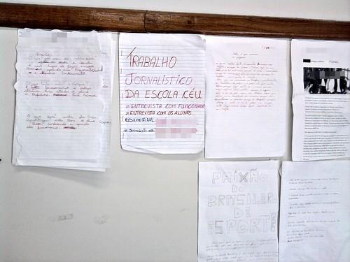 Mural da Classe (10/11/2010) - Detalhes
