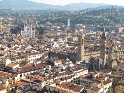 Vistas desde la torre del Duomo