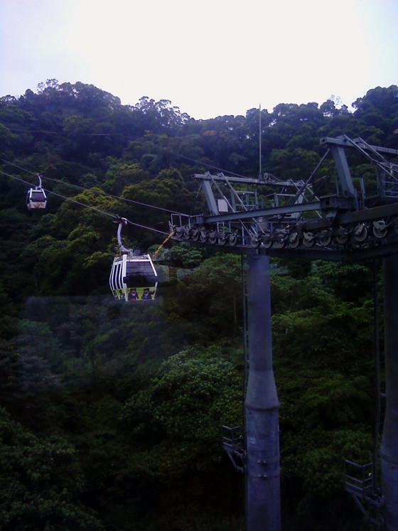 旅游]台北木栅动物园猫空缆车猫缆免费试乘初