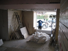 last of the messy work (Speeds Cycles, Bromsgrove) Tags: speedscycles