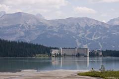 Lago Louise, Chateau Lake Louise 02 (ngeles Lpez) Tags: lago canad montaasrocosas canon40d
