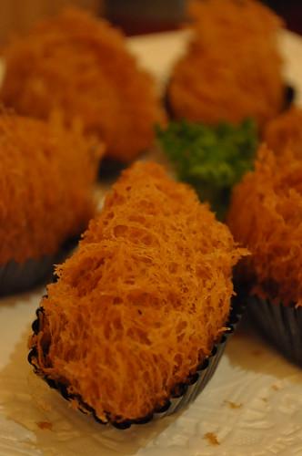 panfried yam taro puff