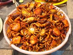 Food Stall, Prasat Vihear Suor, Kandal Province (Pigalle) Tags: food fish asia cambodge cambodia stall creativecommons vat angkor wat indochine indochina kampuchea prasat attributionnoncommercialsharealike kandal ccbyncsa vihearsuor phnomreap