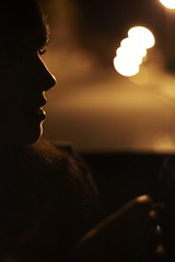 Demonios lloran. (Seor B.) Tags: woman girl car night canon pain bokeh mark lips smoking ii 5d joint frustracin angustia desengao desconsuelo