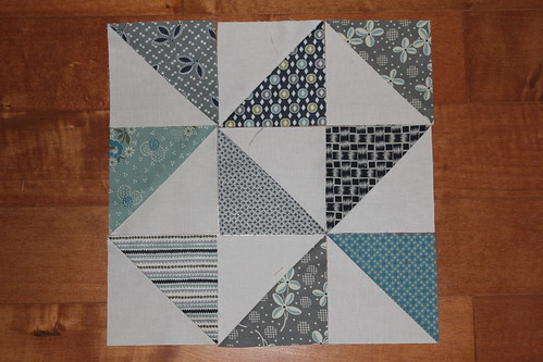 Half square triangle arrangement 2