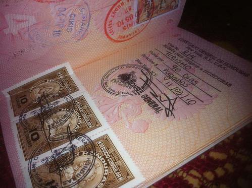 Первая виза