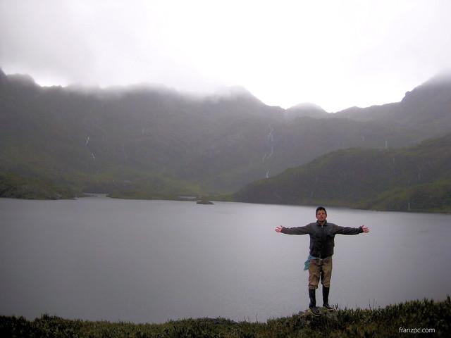 Sobre los 3700 m.s.n.m en pleno páramo la primera laguna del sistema lacustre.