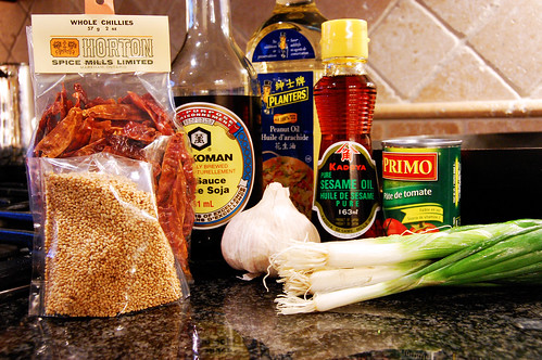 General Tso's Chicken Ingredients