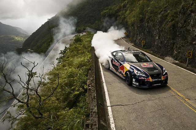 Rhys Millen - Red Bull Extreme Drifting - Serra do Rio do Rastro-  Brazil - 2010