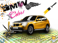 x colors (ayman_ay17) Tags: black color art colors car by painting design 3d graphic designer models x brushes bmw ayman designed