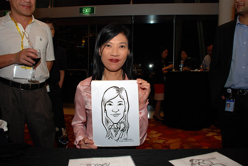 caricature live sketching for 2010 Asia Pacific Tax Symposium and Transfer Pricing Forum (Ernst & Young) - 8