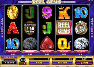 free Reel Gems free spins prize