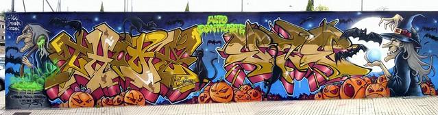 Agü Thone y Eseon en Salamanca 2008