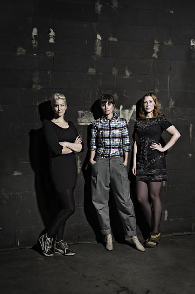 Front Design members Sofia Lagerkvist, Charlotte von der Lancken and Anna Lindgren