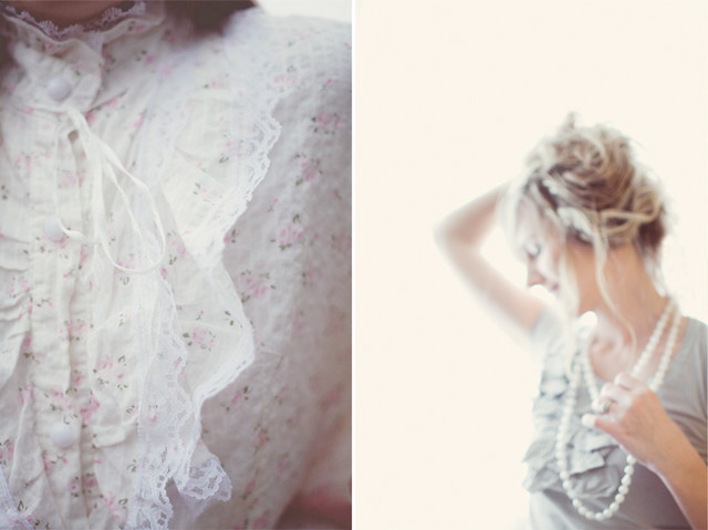 a collaboration | dainty, feminine