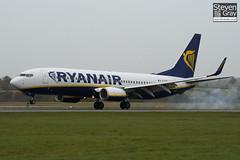 EI-EMB - 38511 - Ryanair - Boeing 737-8AS - Luton - 101102 - Steven Gray - IMG_4329