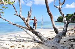 """Come on Chelsea!"" he shouts (pentlandpirate) Tags: football chelsea indianocean seychelles seychelle soccerseychellen"