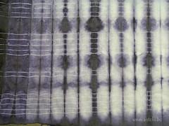 shibori bois de campêche détail