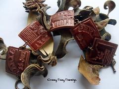 Paris moments bracelet (Crazy Day Design) Tags: paris moments polymerclay fimo bracelet polymer
