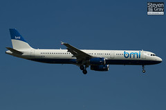 G-MEDM - 2799 - BMI British Midland - Airbus A321-231 - Heathrow - 100617 - Steven Gray - IMG_4314