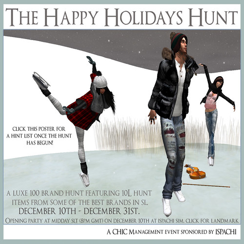 The Happy Holidays Hunt (Poster) copy