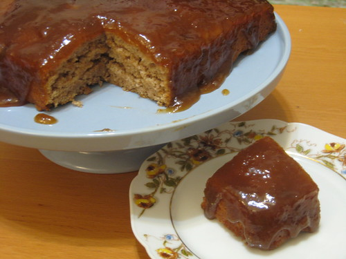 Cinnamon Pudding Cake